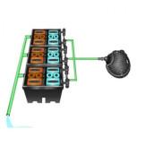 Фильтр для пруда и водоема до 150м3 Pondtech Bio-System 3
