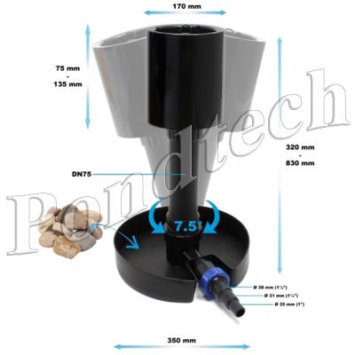 Скиммер для пруда Pondtech CSP40 (CF900)