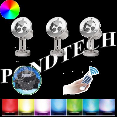 Подводные светильники Pondtech 992Led3 RGB (комплект)
