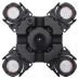 Плавающий фонтан Pondtech HP 100K с подсветкой (Full RGB)
