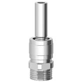 """Одноструйная фонтанная насадка Smooth bore jet ms 0305 l, ⅜"""", 5 mm"""