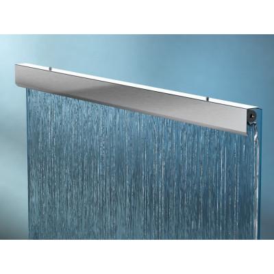 Фонтанная насадка линейная Glass mirror waterfall modular system sf-215
