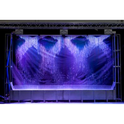 Digital water curtain, 04 m, basic configuration (f8111046) цифровой занавес, длина 4 метра, насос, подсветка, шкаф управления