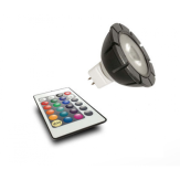 Светильник для пруда и сада Mr16 rgb spotlight + remote