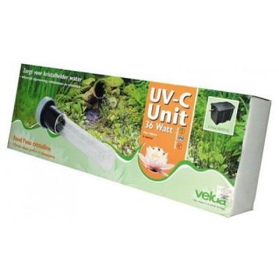 Uv-c unit 9w clear control 25 l, cross-flow biofill