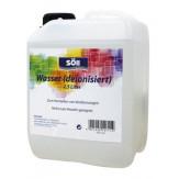Deionisiertes wasser mit spritzaufsatz, 250 ml