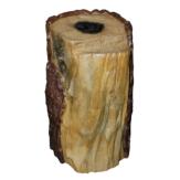 Крышка декоративная для блока из 4-х управляемых садовых розеток «пень»